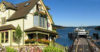 Ferry Landing Suites is the closest Friday Harbor vacation rental to the ferry landing.